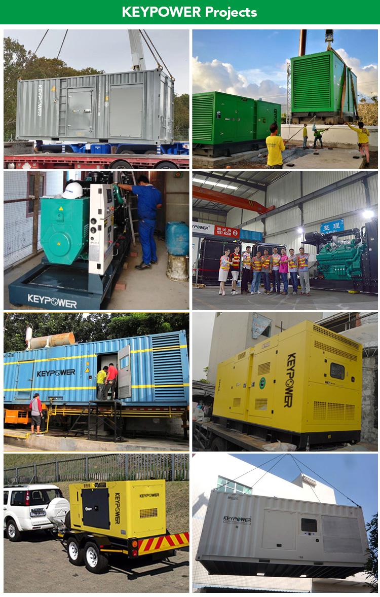100 kVA Power Genset Water-Cooled Diesel Generator Set With 6BT5.9-G2 Engine